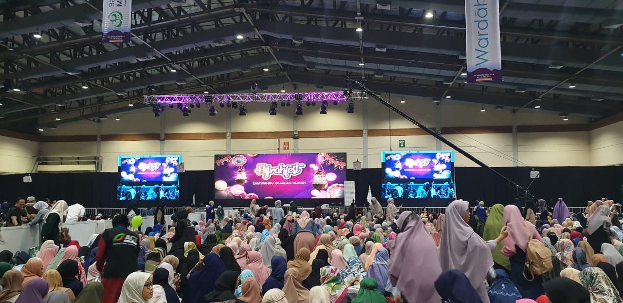 Hari Terakhir Hijrahfest Hadirkan Sandiaga Uno & Tokoh Nusa